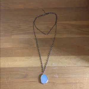 Altar'd State Geode necklace
